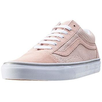 Vans Old Skool Metallic Dots Womens Trainers Rose 9 Uk