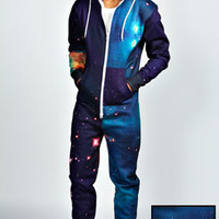 Outer Space Sublimation Print Onesuit