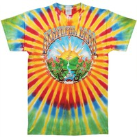 Grateful Dead Men's  Sunrise Tie Dye T-shirt Multi