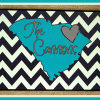 Personalized Door Mat State Design Carolina Monogrammed Doormat Custom Door Mat Personalized Doormat Monogrammed Door Mat Custom