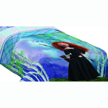 Disney Brave Twin Comforter Merida Forest Bedding
