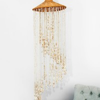 Free People Vintage 1970s Shell Chandelier