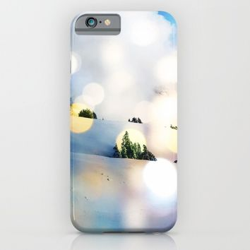 Magic in The Snow #society6 Decor #home #buyart #landscape #lifestyle #fashion iPhone & iPod Case by 83oranges.com | Society6