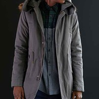 Native Youth Sherpa Long Fishtail Parka Jacket-