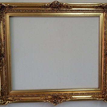 20x24 Shabby Chic Decor Mirror Frame Wedding Decor French style in high density Polyurethane and painted by hand