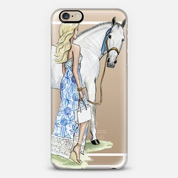 Horse Girl iPhone 6s case by rebecca hinson art | Casetify