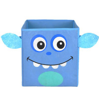 Nuby Blue Monster Folding Storage Bin