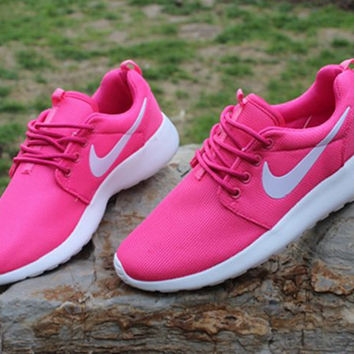NIKE Fashion Casual Rose Running Sport Sneakers Shoes