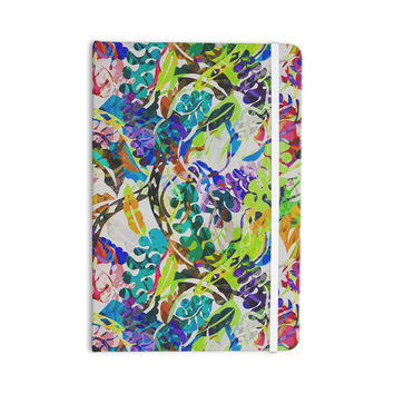 "Gabriela Fuente ""Flow"" Rainbow Floral Everything Notebook"