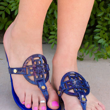 Keep Cool Sandals - Royal Blue