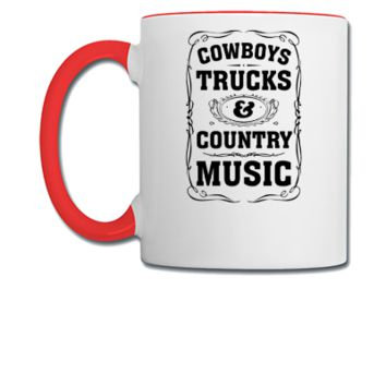 Cowboys, Trucks & Country Music - Coffee/Tea Mug