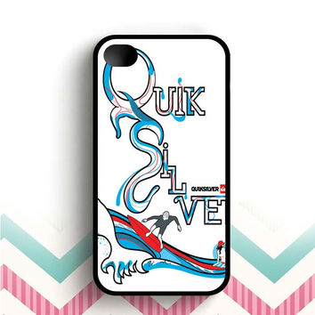 quiksilver surfing  iPhone 4 and 4s case