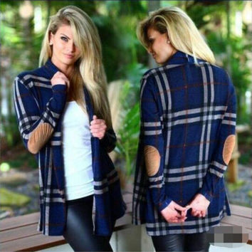 Long Sleeve Plaid Autumn Shirt [9068283076]