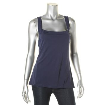 Lauren Ralph Lauren Womens Cross-Back Sleeveless Tank Top