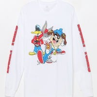 Looney Tunes Long Sleeve T-Shirt at PacSun.com - white | PacSun