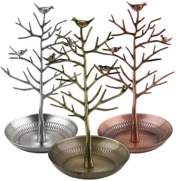 Bird Tree Jewelry Stand, Earrings Stand, Ring Stand, Jewelry Organizer