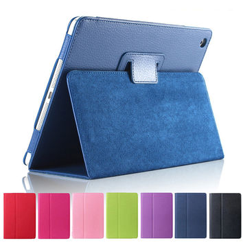 Flip PU 100%Leather Case for Apple Ipad Mini 1 2 3 with Retina Smart Stand