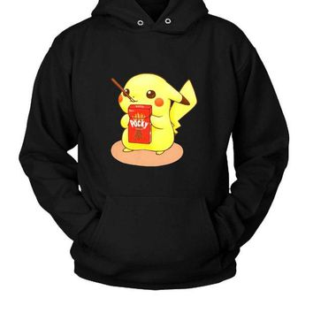 DCCK7H3 Pocky Pikachu Hoodie Two Sided