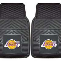 Los Angeles Lakers Heavy Duty 2-Piece Vinyl Car Mats