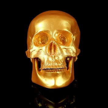 Party Decor Fine Arts Human Skull Resin Replica Medical Model