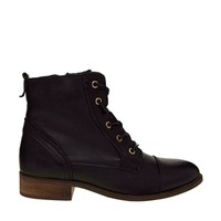 Oasis Lexie Lace Up Worker Boots