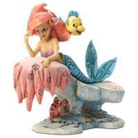 Jim Shore Dreaming Under the Sea—The Little Mermaid 25th Anniversary Figurine