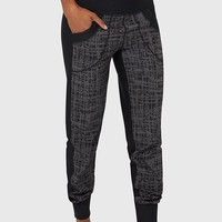 Jogger Mix Printed Cuffed Pant | Women's Essentials | MPG Sport