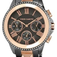 Vince Camuto Multifunction Pyramid Bracelet Watch, 42mm