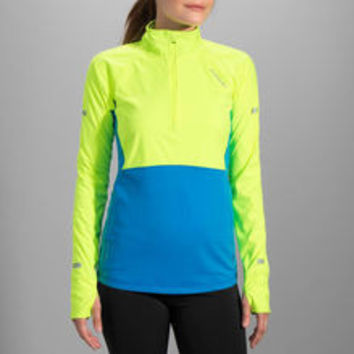 Brooks Drift 1/2 Zip Hi-Vis