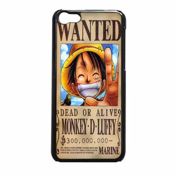 Luffy One Piece Wanted iPhone 5c Case