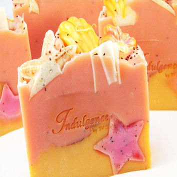 Island Nectar Handmade Soap Cold Process Artisan Soap by svsoaps