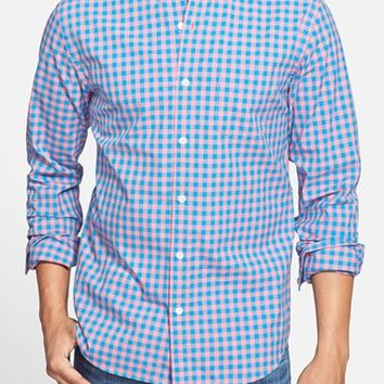 Men's Bonobos 'Ging Crosby' Slim Fit Gingham Sport Shirt,