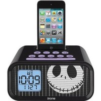 Nightmare Before Christmas Jack Skellington Dual Alarm Clock, DJ-H22