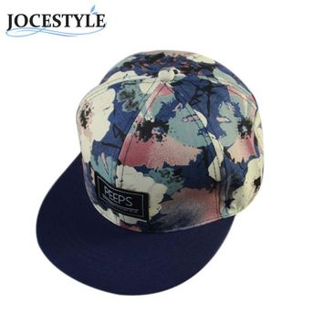 New Arrival Unisex Casual Caps Men Women Outdoor Sunhats Snapback Adjustable Baseball Cap Cool Floral Cool Hip Hop Hat