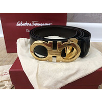 Salvatore Ferragamo reversible adjustable belt