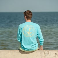 Classic Anchor Long Sleeve - Bahama Blue