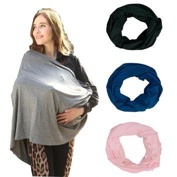 Baby Carseat Cover and Nursing Infinity Scarf