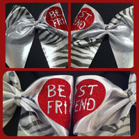3in. Best Friend Cheer Bow Set