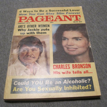 Vintage 1975 Pageant Magazine by CommodityOddity on Etsy