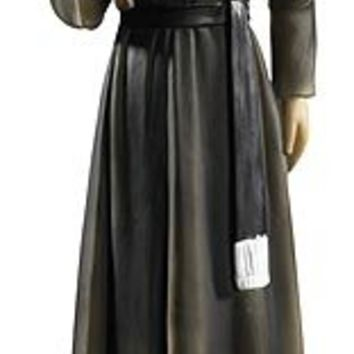 """Cathoic St. Gerard Statue, Catholic Saint Gerard Majella Patron Saint of Childbirth, Expectant Mothers, Pregnant Women, Fertility, Pregnancy, Safe Delivery, Infertility. Material: Resin Size: 10"""" H, Boxed"""