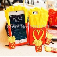 NEW 3D FRIES SOFT SILICONE BACK CASE COVER FOR APPLE IPHONE 4 4S 5 5S 6 6 PLUS SAMSUNG GALAXY S3 S4 S5 S3 MINI NOTE 2 NOTE 3-in Phone Bags & Cases from Electronics on Aliexpress.com | Alibaba Group