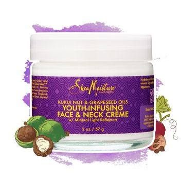 Kukui Nut & Grapeseed Oils Youth-Infusing Face & Neck Crème