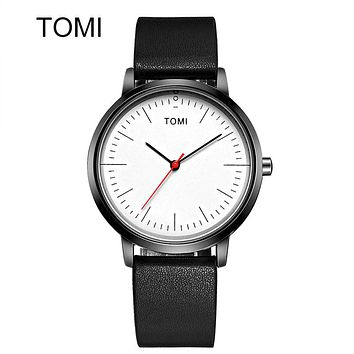 Men's Watches New Luxury Casual Quartz Sports Wristwatch Ladies Leather Strap Male Clock Ultra Thin Dial Watch