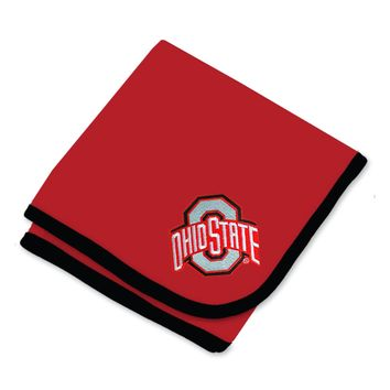 Ohio State Baby Blanket