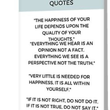 'Stoic Philosophy Quote by Marcus Aurelius' Greeting Card by IdeasForArtists