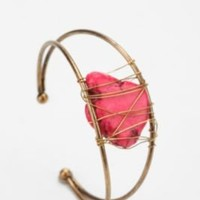 Delicate Coral Cuff BraceletOnline Only!