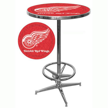 NHL Detroit Redwings Pub Table
