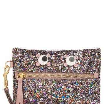 Anya Hindmarch Small Circulus Eyes Zip Pouch | Nordstrom