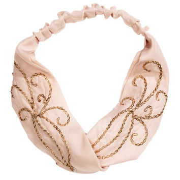 H&M Embroidered Hairband $9.95