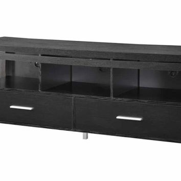 Coaster Fine Furniture Tv Console Black 701970